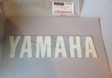 Yamaha Aufkleber Schriftzug Bugspoiler FZ750 Graphic Under Cover Original Neu